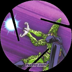 PaxToy.com  Фишка / POG / CAP / Tazo 058 Cell - Blast из Cheetos: Dragon Ball Z XFERAS Tazos