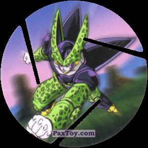 PaxToy.com  Фишка / POG / CAP / Tazo 059 Cell - Punch из Cheetos: Dragon Ball Z XFERAS Tazos