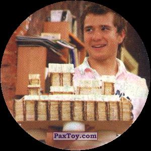 PaxToy.com  Фишка / POG / CAP / Tazo 07 Рома со спичечным замком из Счастливы вместе Фишки