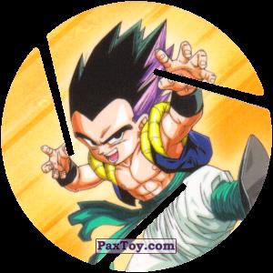 PaxToy.com  Фишка / POG / CAP / Tazo 082 Gotenks из Cheetos: Dragon Ball Z XFERAS Tazos