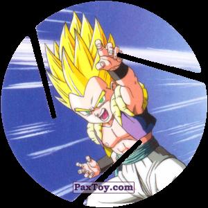 PaxToy.com  Фишка / POG / CAP / Tazo 083 Gotenks - Super Saiyajin 1 из Cheetos: Dragon Ball Z XFERAS Tazos