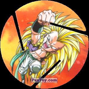 PaxToy.com  Фишка / POG / CAP / Tazo 084 Gotenks - Super Saiyajin 3 из Cheetos: Dragon Ball Z XFERAS Tazos