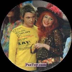 PaxToy.com  Фишка / POG / CAP / Tazo 29 Даша и участник группы Корни из Счастливы вместе Фишки