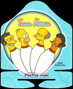 PaxToy.com - 42 из 50 Кегля - Балл 30 - Боул-Бум Тема 2 из 10 - Типа Кегли из Cheetos: Симпсоны Термоядерный Боулинг