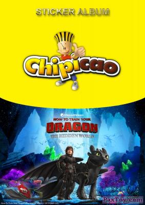 PaxToy Chipicao 2019 Как приручить дракона 3   Альбом album 1