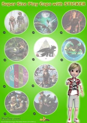 PaxToy Chipicao 2019 Как приручить дракона 3   Альбом album 7