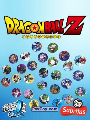 PaxToy Sabritas: Dragon Ball Z XFERAS Tazos