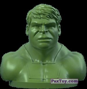 PaxToy.com - 02 Халк (Штамп + Ластик) из Пятерочка: Стиратели 2