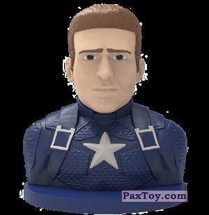 PaxToy.com - 06 Капитан Америка (Штамп) из Пятерочка: Стиратели 2
