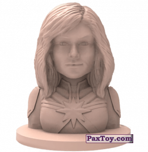 PaxToy.com - 07 Капитан Марвел (Штамп + Ластик) из Пятерочка: Стиратели 2