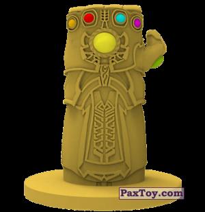 PaxToy.com - 08 Перчатка бесконечности (Штамп + Ластик) из Пятерочка: Стиратели 2