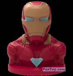 PaxToy.com - 10 Железный человек (Штамп) из Пятерочка: Стиратели 2