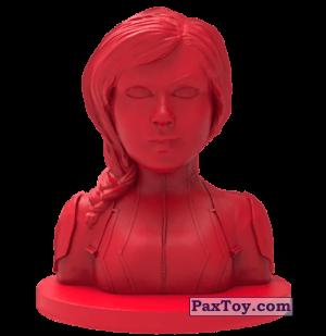 PaxToy.com  Игрушка, Фигурка 12 Черная вдова (Штамп + Ластик) из Пятерочка: Стиратели 2