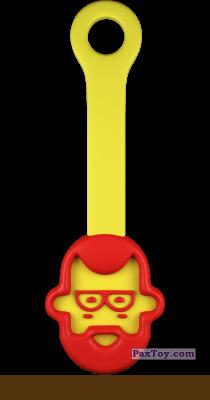 PaxToy.com  Игрушка 18 Папашич - Скрепыш из Магнит: Скрепыши