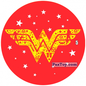 PaxToy.com - 05 Знак Чудо-Женщина из Chipicao: Justice League