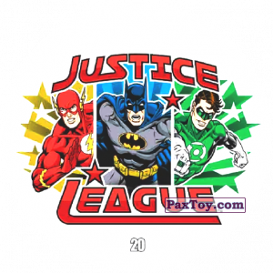 PaxToy.com - 20 Justice League из Chipicao: Justice League