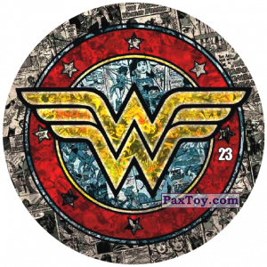 PaxToy.com - 23 Wonder Woman LOGO из Chipicao: Justice League