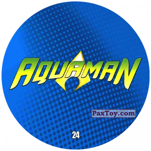 PaxToy.com - 24 Aquaman LOGO из Chipicao: Justice League