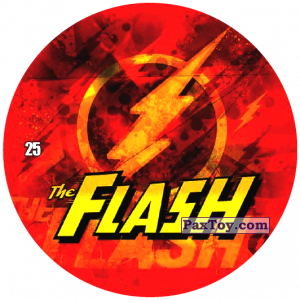 PaxToy.com - 25 Flash LOGO из Chipicao: Justice League