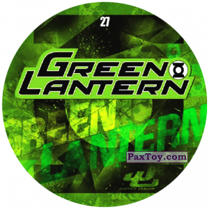 PaxToy.com - 27 Green Lantern LOGO из Chipicao: Justice League