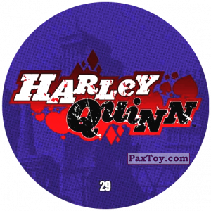 PaxToy.com - 29 Harley Quinn LOGO из Chipicao: Justice League