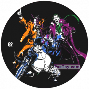 62 Two-Face, Joker and Penguin