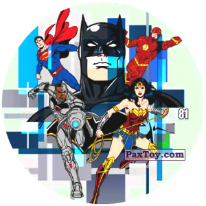 81 Batman - Justice League