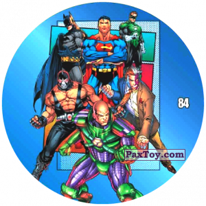 84 Justice League and Villain