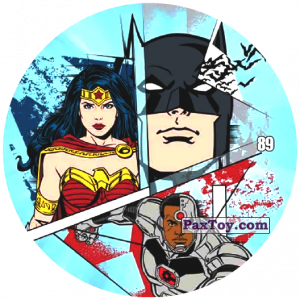 89 Wonder Woman, Batman and Cyborg