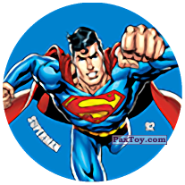 92 Superman (Metal Tazo)