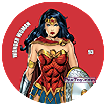 93 Wonder Woman (Metal Tazo)