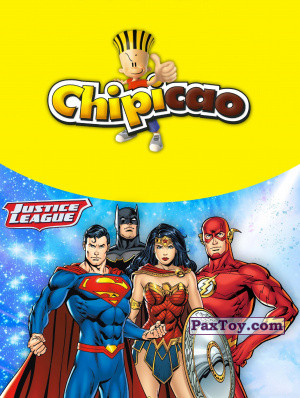 PaxToy Chipicao   2019 Justice League logo tax