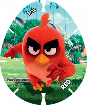 PaxToy.com - 01/32 RED из Carrefour: Angry Birds 2