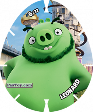 PaxToy.com - 06/32 LEONARD из Carrefour: Angry Birds 2