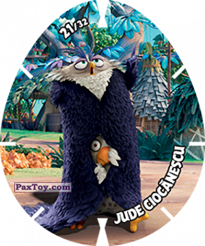 PaxToy.com - 21/32 JUDE CIOCANESCU из Carrefour: Angry Birds 2