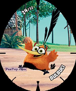 PaxToy.com  Карточка / Card, Фишка / POG / CAP / Tazo 24/32 BULBUCI из Carrefour: Angry Birds 2