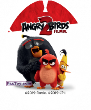 PaxToy.com - 01/32 RED (Сторна-back) из Carrefour: Angry Birds 2