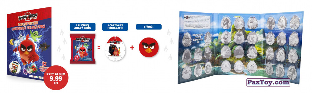 PaxToy Carrefour 2019 Angry Birds 2 fast info