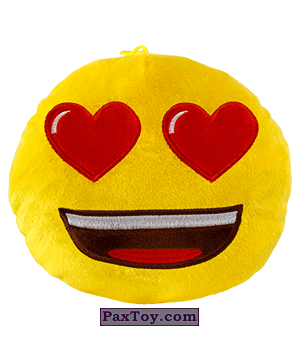 PaxToy.com  Мягкая игрушка 04 Плюшевая EMOJI ЛЮБОВЬ-МОРКОВЬ из О'Кей: Плюшевые игрушки в подарок к Новому Году 2020
