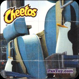 PaxToy.com  Игрушка, Карточка / Card 07 Фиддлер - Пингвины пилоты из Cheetos: Фиддлеры Madagascar 2