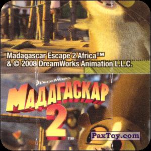 PaxToy.com - Игрушка, Карточка / Card 09 Фиддлер - Деревня Короля Джулиана (Сторна-back) из Cheetos: Фиддлеры Madagascar 2
