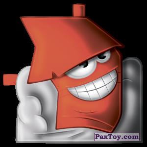 PaxToy.com  Фигурка 08 Хлопушкин из Белмаркет: Стакерз