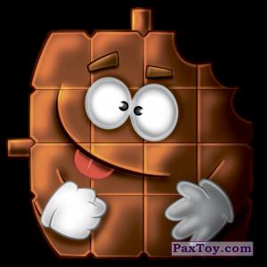 PaxToy.com - 16 Шоколадкин из Гиппо: Стакерз