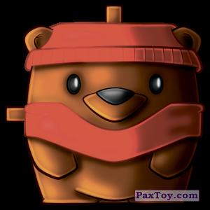 PaxToy.com - 21 Медвежик из Гиппо: Стакерз
