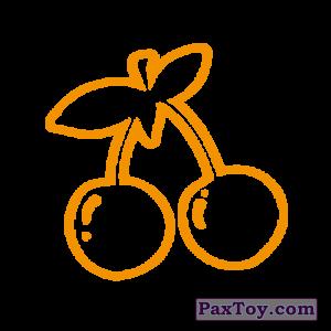 PaxToy.com - 01 Гепардовые Вишни (Сторна-back) из Cheetos: Неоновые стикеры