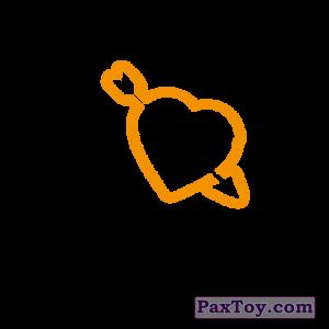 PaxToy.com - 02 I Love Chester (Сторна-back) из Cheetos: Неоновые стикеры