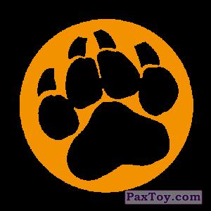 PaxToy.com - 05 След лапы (Сторна-back) из Cheetos: Неоновые стикеры
