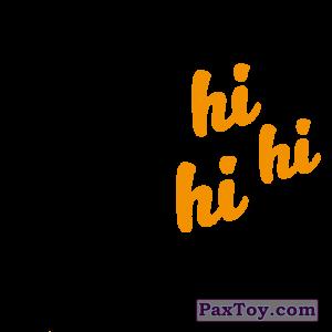 PaxToy.com - 06 Hi Hi Hi (Сторна-back) из Cheetos: Неоновые стикеры