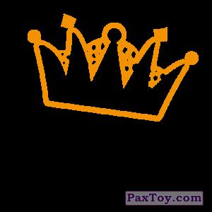 PaxToy.com - 11 Wild Queen (Сторна-back) из Cheetos: Неоновые стикеры
