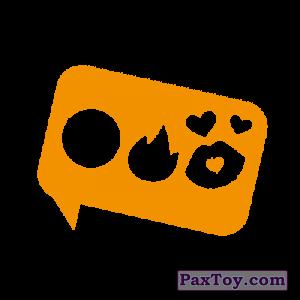 PaxToy.com - 13 Ребус (Сторна-back) из Cheetos: Неоновые стикеры